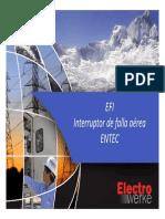 EFI Interruptor de falla aérea ENTEC