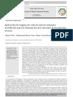 Azucar Bagasse Dye Removal en Español