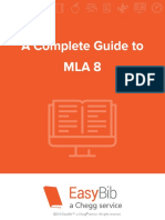 Complete Guide to MLA 8