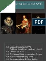 9. La España Del Siglo Xvii