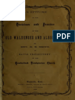 Old Waldenses and Albigenses