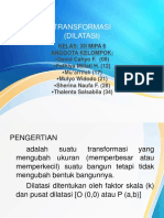 Transformasi (Dilatasi)