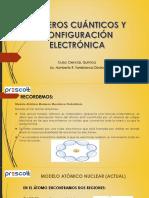 Numeros Cuanticos y Configuracion Electronica