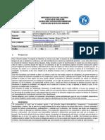 Programa Derechos Humanos en Colombia SEGUNDO Semestre de 2010
