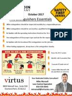 October Safety Flyer
