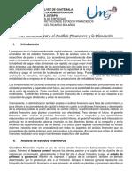 2. Herramientas Para El Análisis Financiero y La Planeación