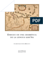 Esbozo de Gramática de la Lengua Kariña