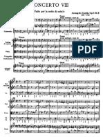 Corelli concerto grosso opus 8 farto per la notte di natale