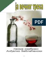 AndjelkoZablacanski Poezija Vecnog Trena Izbor Svetske i Nase Poezije