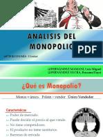 Analisis Del Monopolio Microeconomia