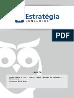 Aula 06 - Controle Externo TCU - TEFC e AUFC (TI e Bibliotec) 2014