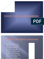 Static Stretching Exercises