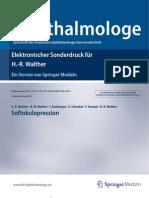 """Softokulopression - Ein Fachbeitrag von PD Dr. Hans-Rainer Walther in der Fachzeitschrift """"Der Ophthalmologe"""""""