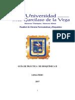 Guia de Practica Bioquimica II 2017-2