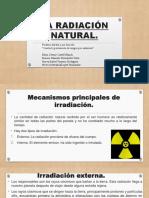 La Radiación Natural
