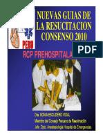 RCP PREHOSPITALARIO 2010
