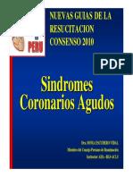 Sindrome Coronario Agudo 2010
