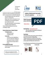 Cirus Controls Valve Assy Install and Commissioning Procedure 8.09