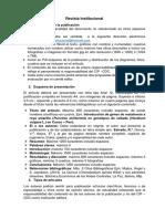 Requisitos Para Presentación de Artículos