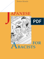 Japanese for Abacists Draft