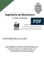 Equilibrio en Sistemas Con Reacciones Químicas