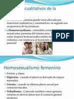 Trastornos Cualitativos de La Sexualidad