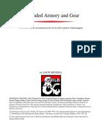 DD 5e - Gear - Expanded Armory Gear (Printer Friendly)