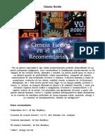 Ciencia Ficción- Recomendaciones de Lectura Cine y Revistas