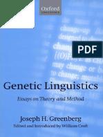 GREENBERG J. H. Genetic_Linguistics.pdf