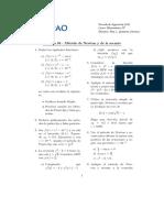 Primera 04 - Método de Newton y de La Secante