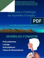 Anatomofisiologia Do Aparelho Fonador