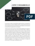 Innovación y Desarrollo