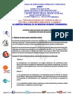 Licencias Sindicales Fundamentos Jurídicos/Unidad de Asesoría Jurídica ANEP