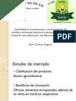 Factibilidad en La Producción y Comercialización de Tortillas