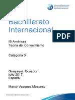 PD C3 Teoría Del Conocimiento Para Profesores de Asignaturas