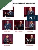 Miembros Del Cuerpo Gobernante Actualizado