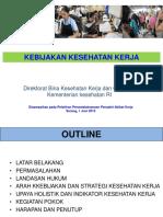 0_kebijakan Kesehatan Kerja Pelatihan 2015 Rev Up Date