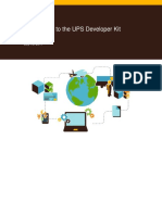 Introduction to the UPS Developer Kit