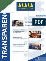 Transparencia | Boletín Setiembre 2017