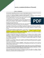 Odonnell - Estado - Resumen