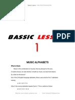 Bassic Lessons