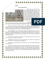 Narrative Text About Fabel