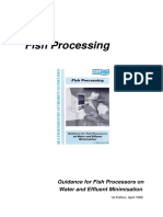 Fish Processing Effluent