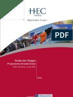 Le Guide Des Stages 2009-2010