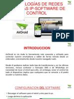 Tecnologías de Redes Camartas Ip Software de Control