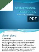 Líquen plano y psoriasis en dermatología podológica