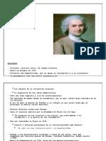 Resumen de Jean Jacques Rouseau