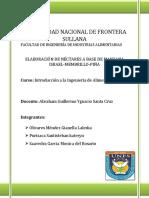 Elaboracion de Nectar Mix de Manzana, Menbrillo y Piña 1.Docx