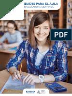 Actividades Para El Aula Con Calculadora Cientifica - Casio Div. Educativa y Fespm