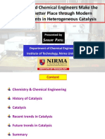 Chemist n Chemical Engg Hetrogeneous Catalysis